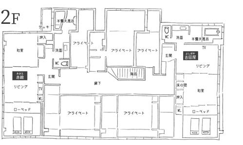 フロアマップ2階